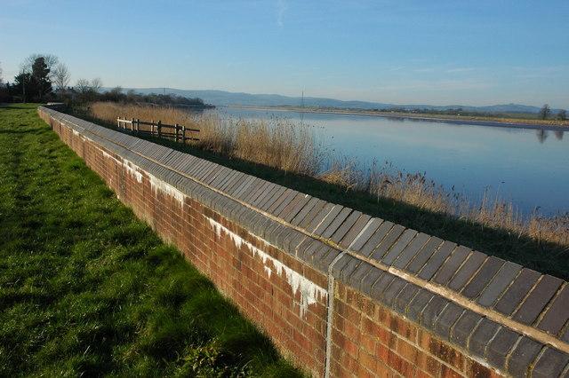 The River Severn at Framilode
