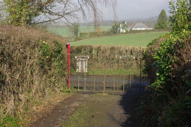 Doddiscombsleigh Church Gate