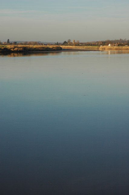 The River Severn near Upper Framilode