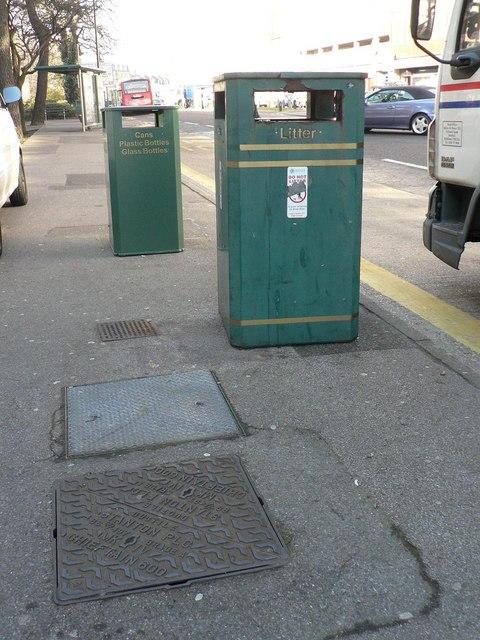 Bournemouth: big bin, little bin