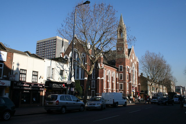 Converted church of St. James the Great, Bethnal Green Road