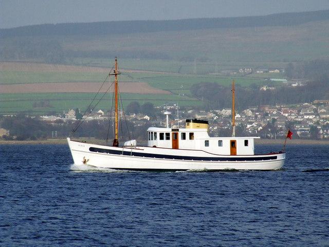 St Just, passing Port Glasgow