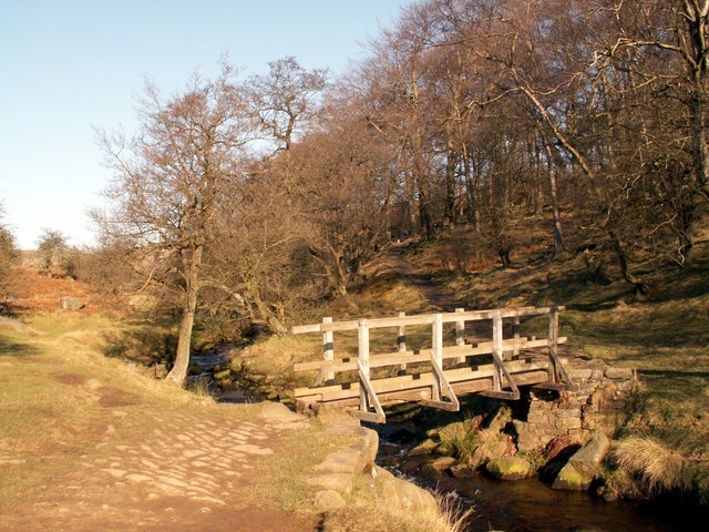 Burbage Brook footbridge