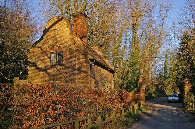 Gatehouse for Port Lympne Mansion