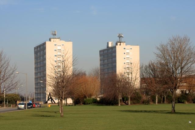 Thornaby Tower Blocks