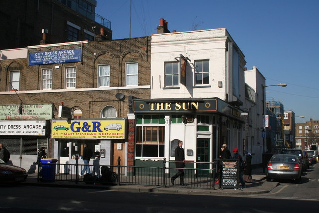 The 'Sun', Bethnal Green Road