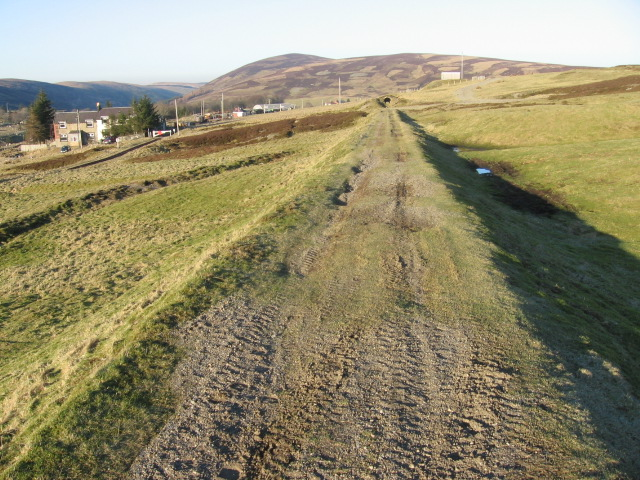 Route of old railway