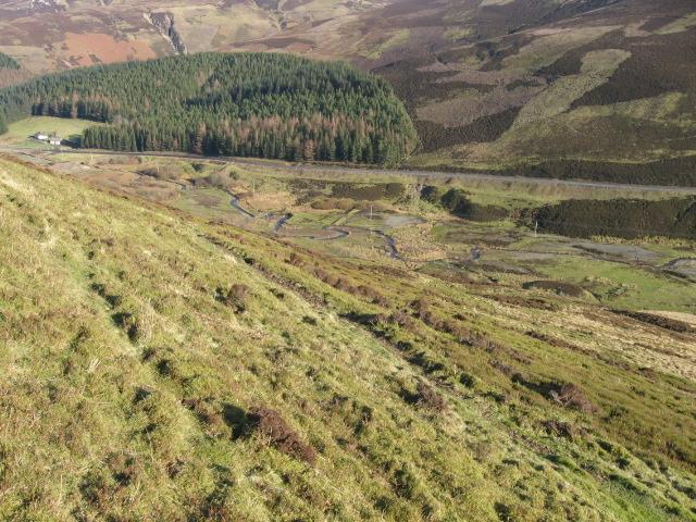 Water Head hillside towards New Glendorch