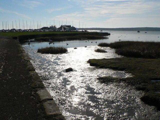 Mudeford: far end of harbour