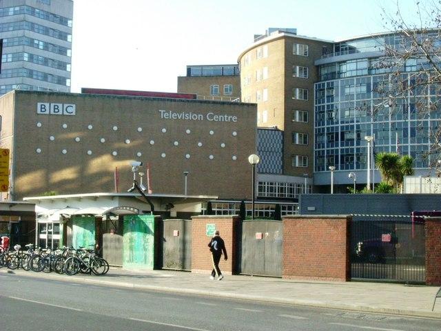 BBC TV - old entrance