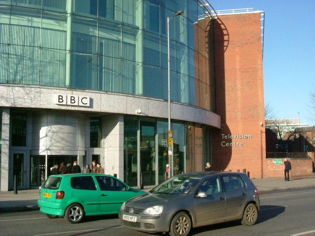 BBC TV - new entrance