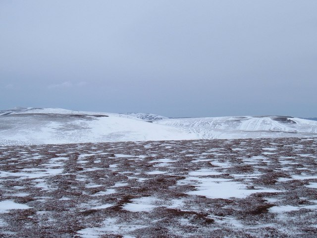 Carn Ealasaid summit ridge