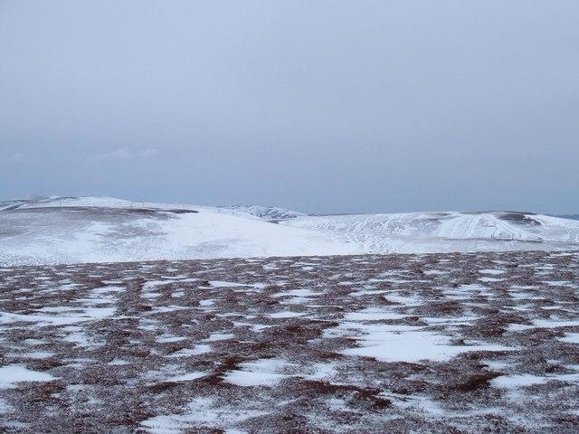Carn Ealasaid summit ridge