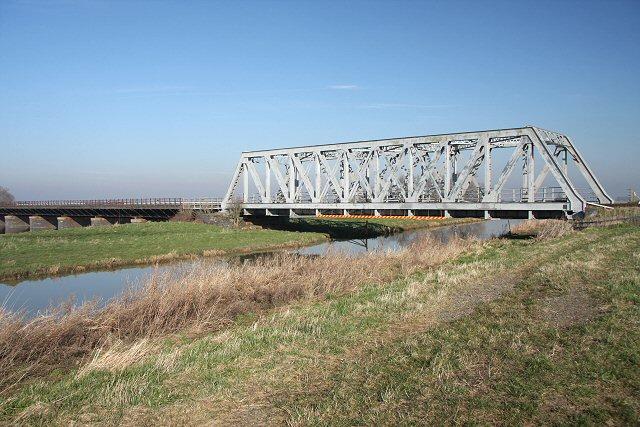 Railway bridge and viaduct