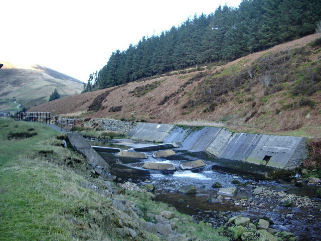 Weirs on the River Dunsop