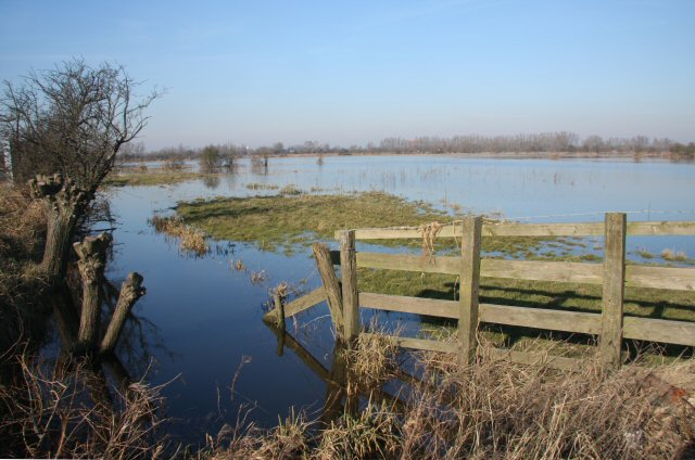 Ouse Washes at Suspension Bridge