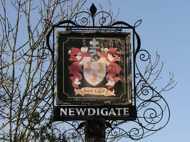 Newdigate village sign
