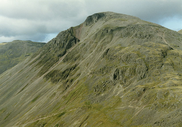 South side of Great Gable from the Corridor Route