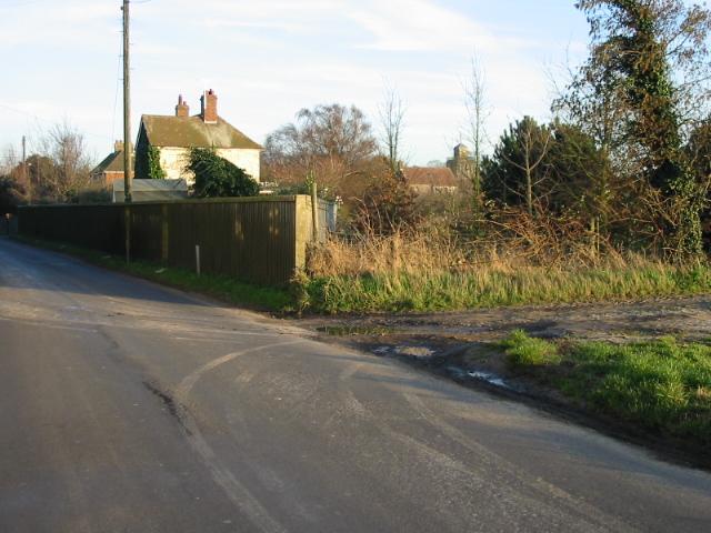 Entrance to Beacon Lane Farm on Beacon Lane
