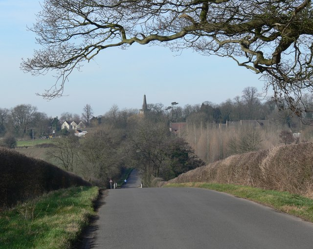 Sheepy Lane towards Orton-on-the-Hill