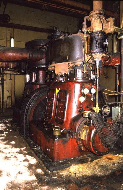 Compressor engine, Fishburn Coking Works