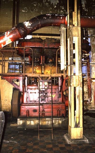 Gas compressor, Fishburn Coking works
