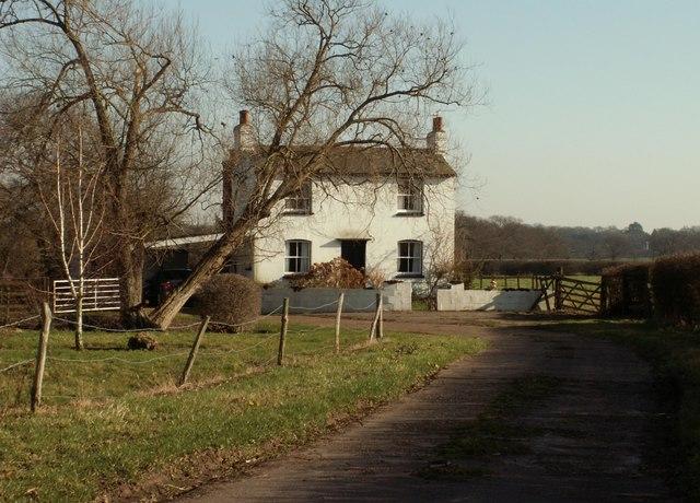 The farmhouse at Salesfrith Farm