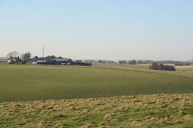 Silverlea Farm to the nor'west