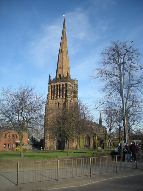 St Peters & St Pauls church Aston