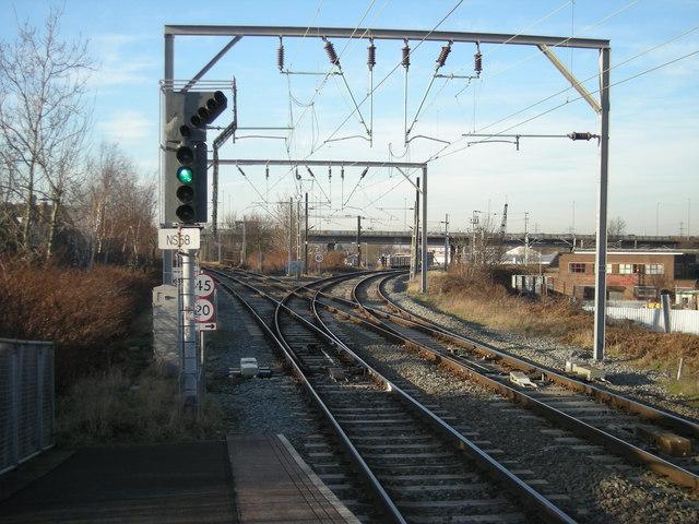 Aston north railway junction