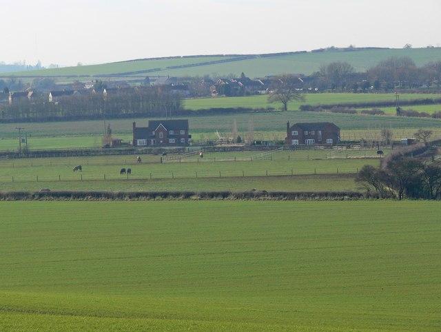 View towards Warton in Warwickshire
