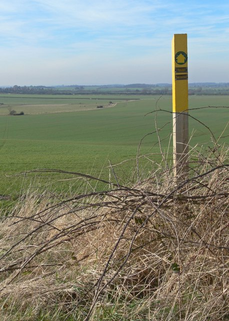 Public footpath to Warton