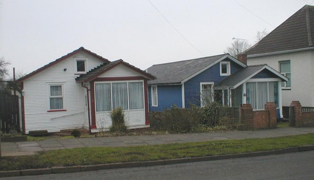 Wooden Houses in Coney Hill