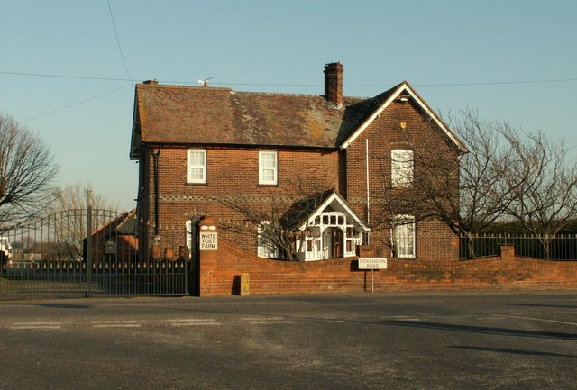 The farmhouse at White Post Farm