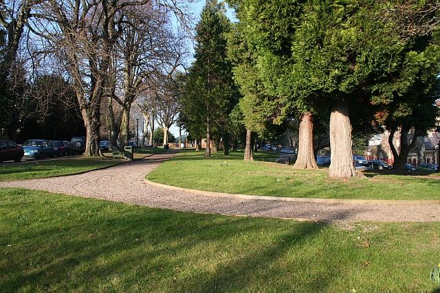 Station Gardens, Great Malvern