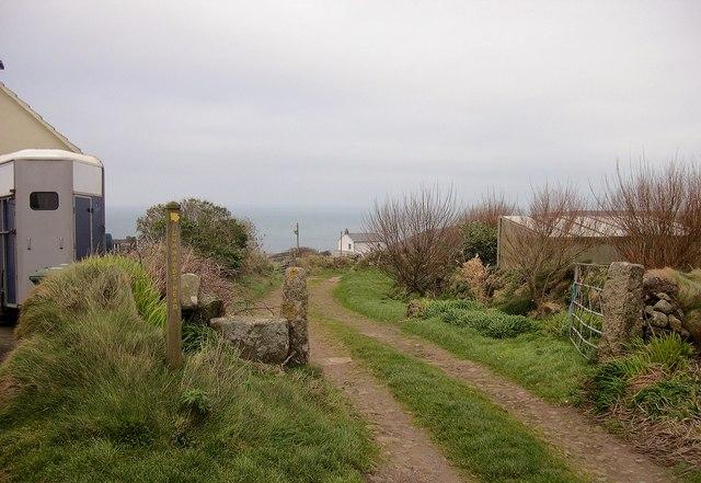 Footpath to Gurnards Head