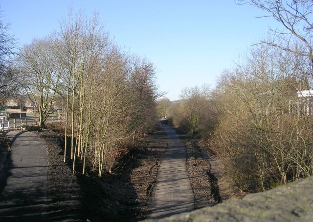Disused Railway Track - New Road