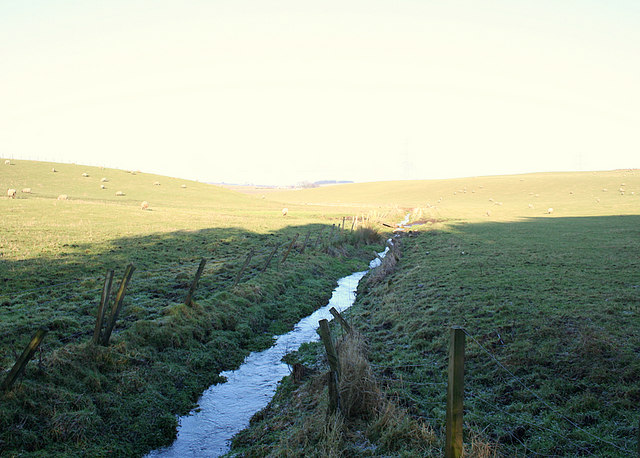 Ditch to the east of Tillyfar