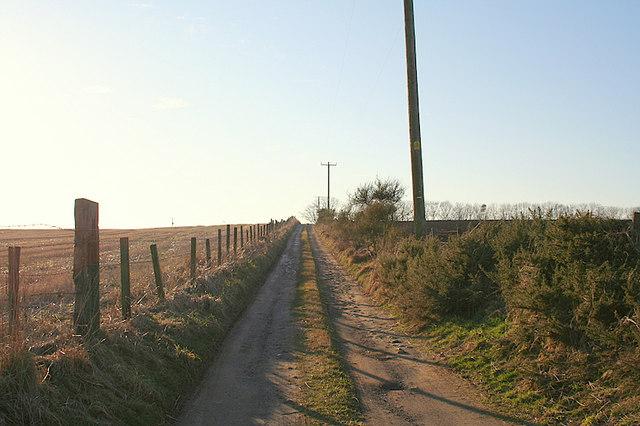 Lane to Cairncake Farm