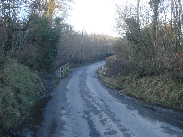 Bridge over the Cynon Brook
