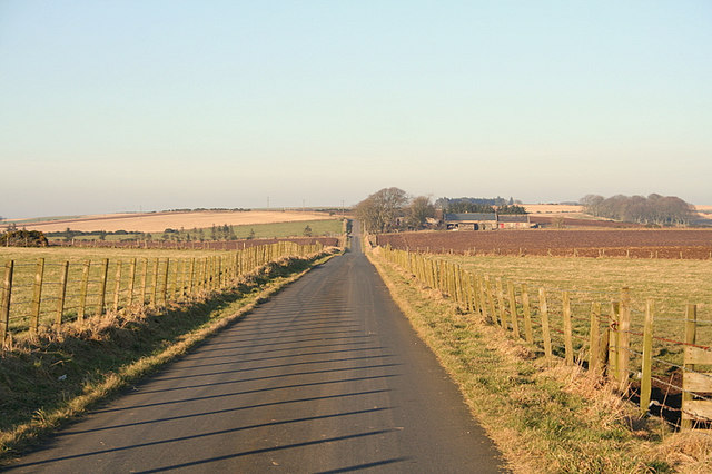 Road to the north of Mildenhill
