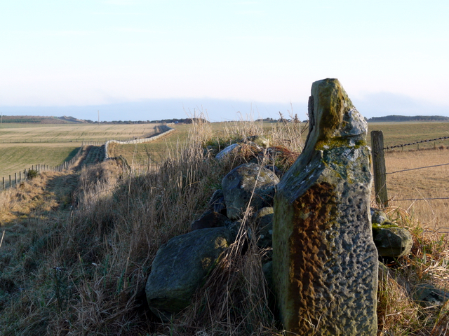 Old gatepost