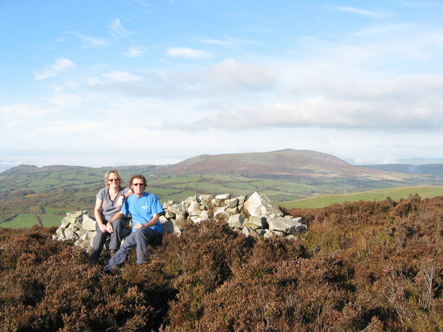Top of Heath Mynd