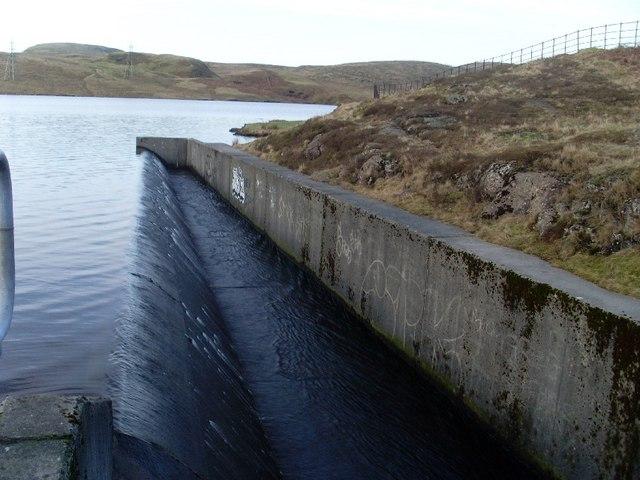 Greenside Reservoir overspill