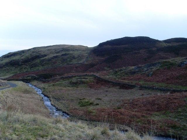 Loch Humphrey Burn, Kilpatrick Hills