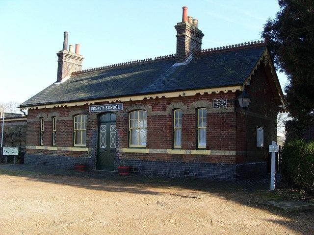 County School Railway Station (preserved)