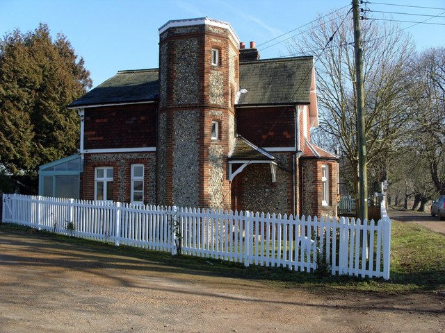 Former Stationmaster's house, County School Station