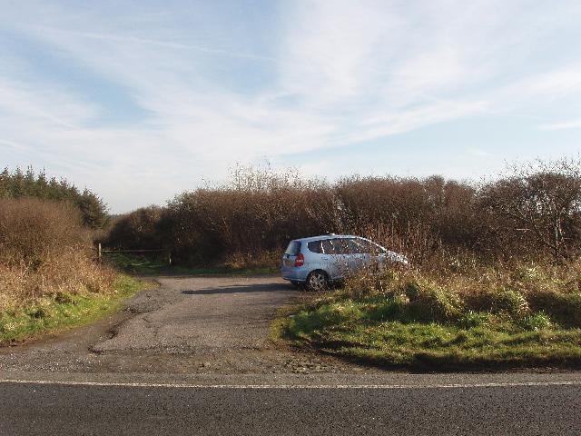 Car park, Summerwell Moor Plantation