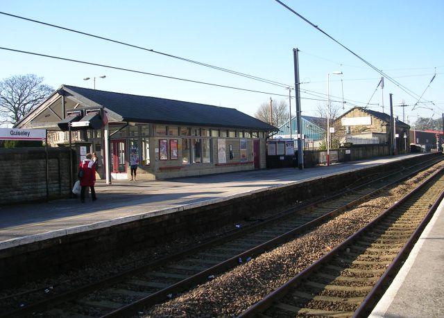 Platform 1 - Guiseley Station