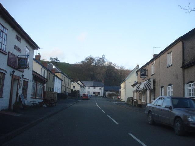 Centre of New Radnor